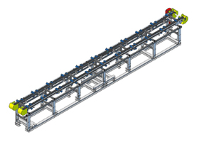 Conveyors for automotive industry
